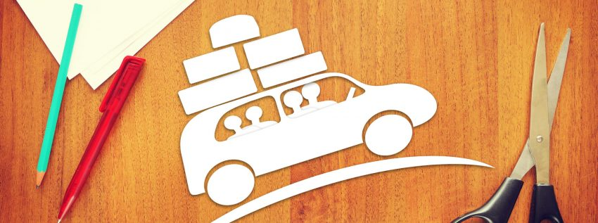 7 Reasons To Start Travelling Right Now. Concept of family trip by the car