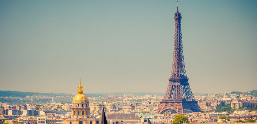 Black Friday Week! South and Europe Packages. View on Eiffel Tower, Paris, France