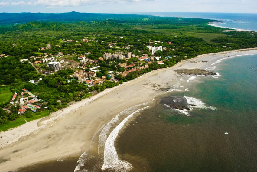The Best Of Costa Rica Independent Adventure (10 Days). Costa Rica Beach from the Air