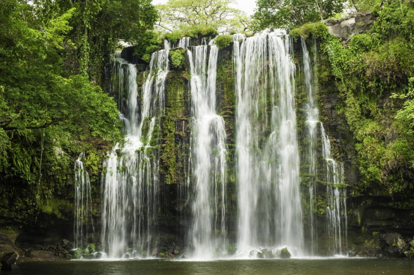 Best Places to Enjoy Wildlife in Costa Rica. Waterfall-Costa Rica