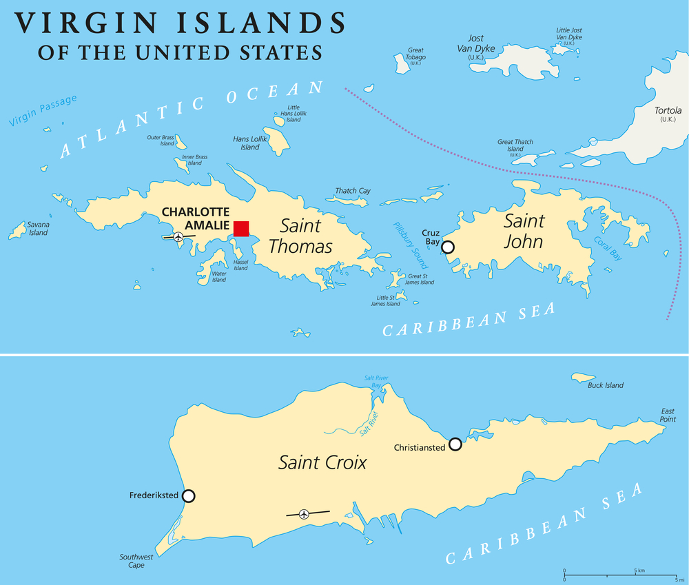 Traveling To The United States: U.S. Virgin Islands