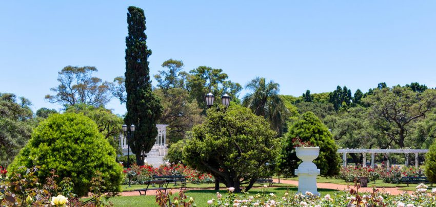Explore the beauty of Buenos Aires. Rose Park (Rosedal), Buenos Aires Argentina