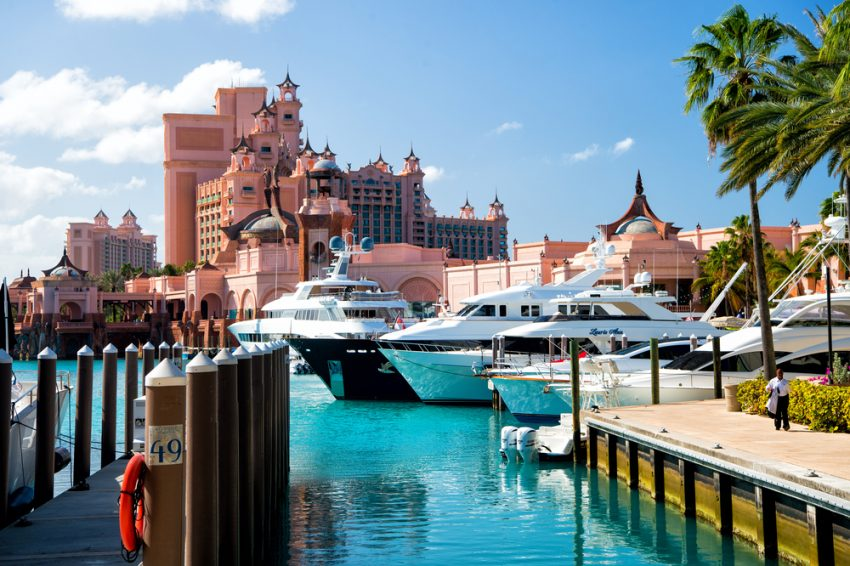 Top-Rated Tourist Attractions in Bahamas. The Atlantis Paradise Island resort, located in the Bahamas