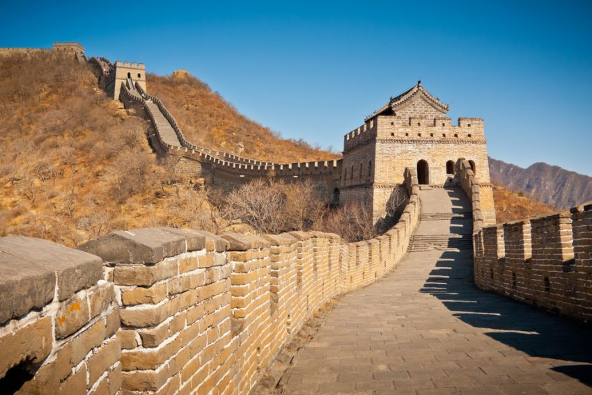 China's Top Attractions. Great Wall