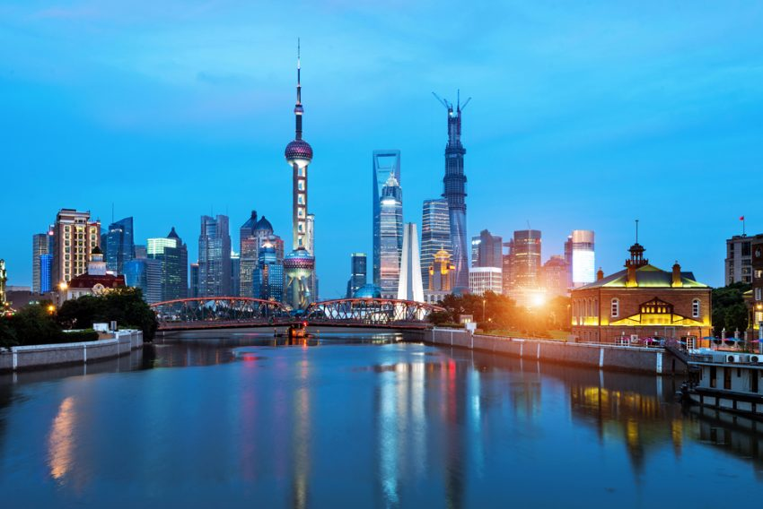 China's Top Attractions. Shanghai