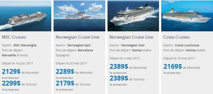 Summer Cruise. Early Booking Promotion