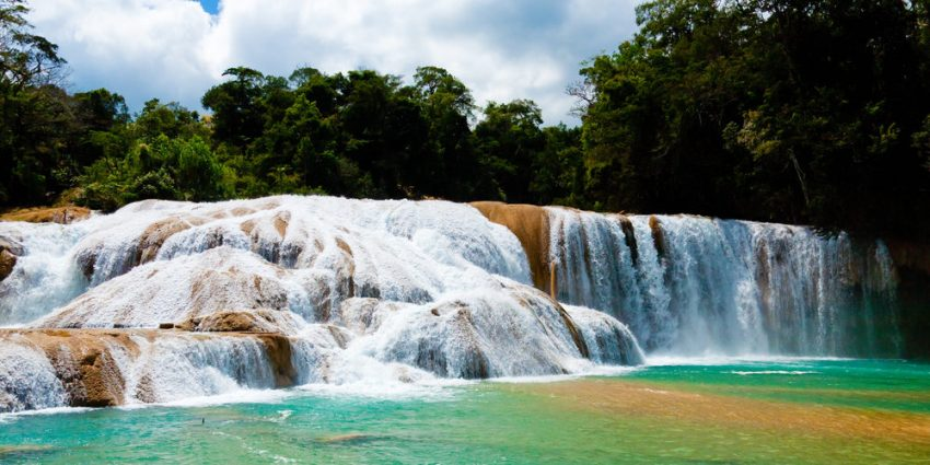 When is the best time to visit Mexico? Agua Azul Waterfall, Yucatan, Mexico