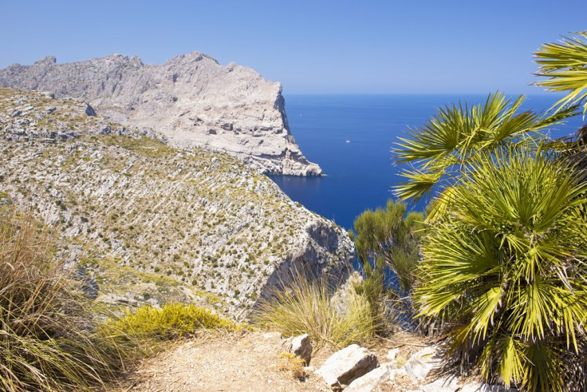 The World's Most Relaxing Vacation Spots. Cape Formentor in the Coast of North Mallorca, Spain ( Balearic Islands ).