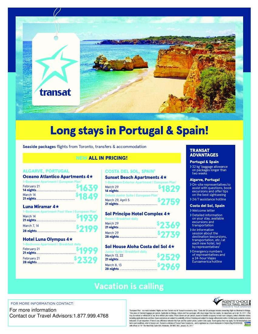 Long Stays in Portugal and Spain