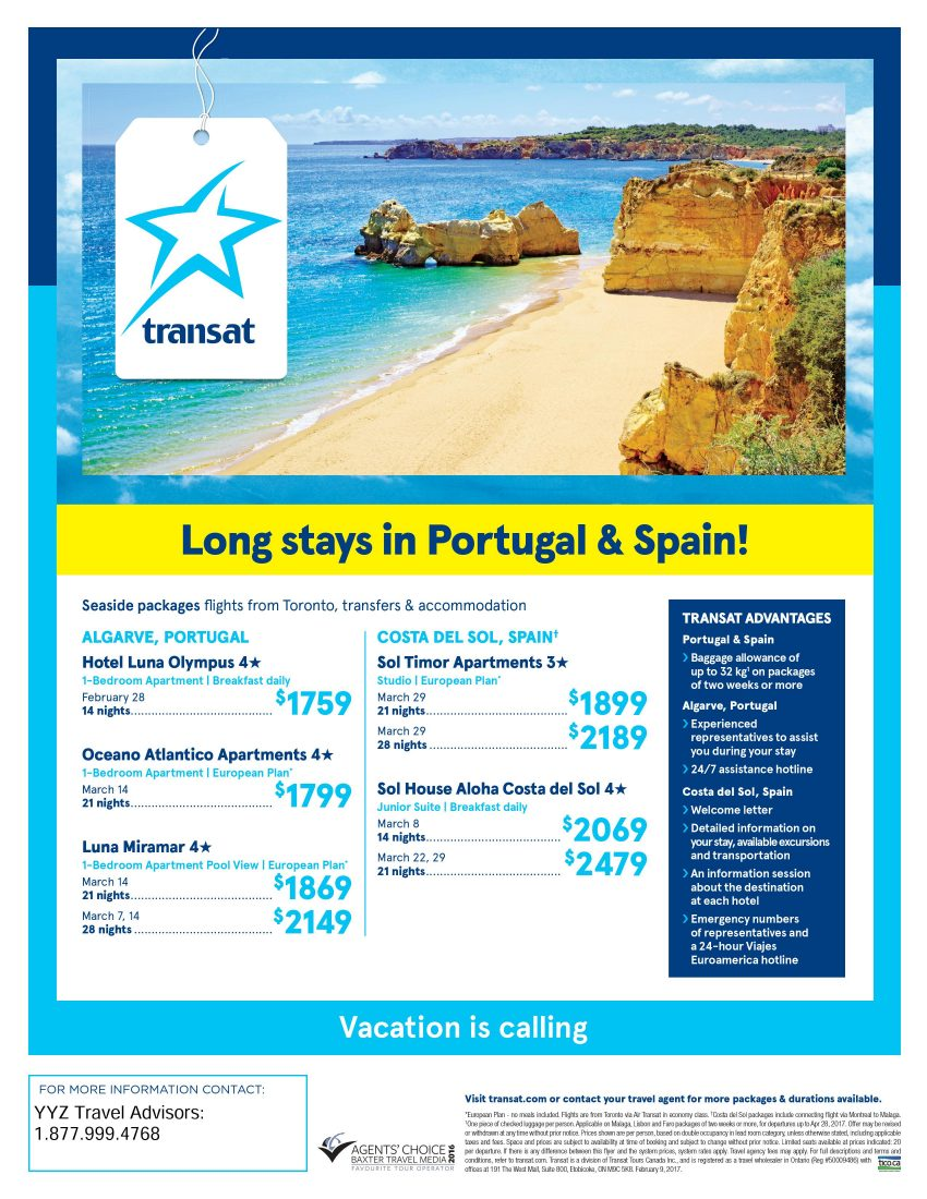 Long Stays in Portugal and Spain!