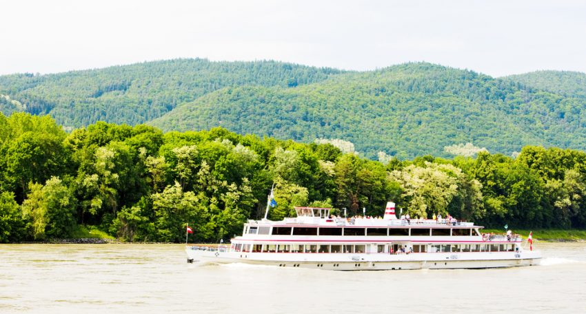 The River Cruises Worth Trying This Season. Cruise ship on the Danube river