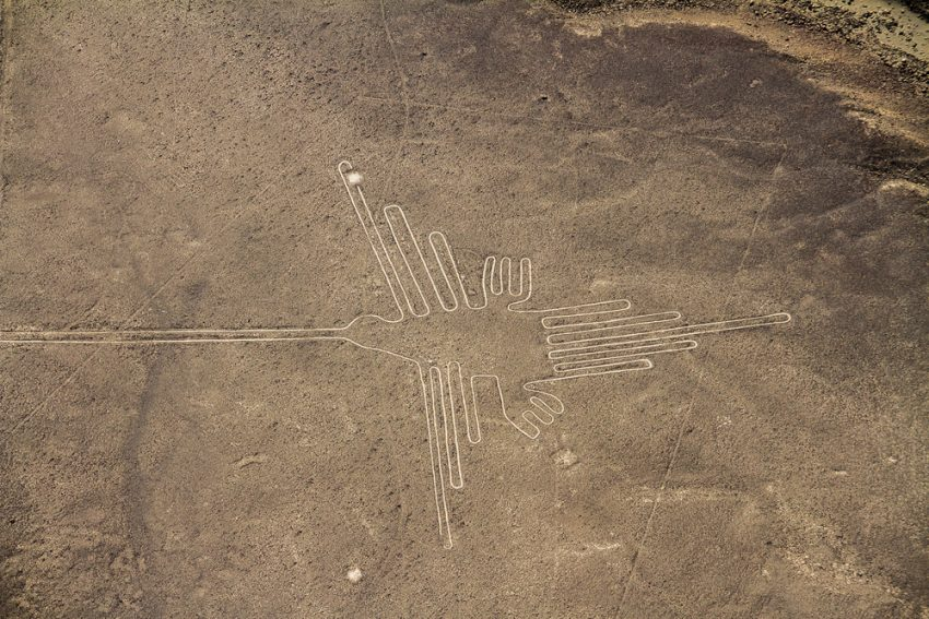 Why Peru Should Be your Next Travel Destination. Nazca Lines, Aerial View, Peru, The Hummingbird.