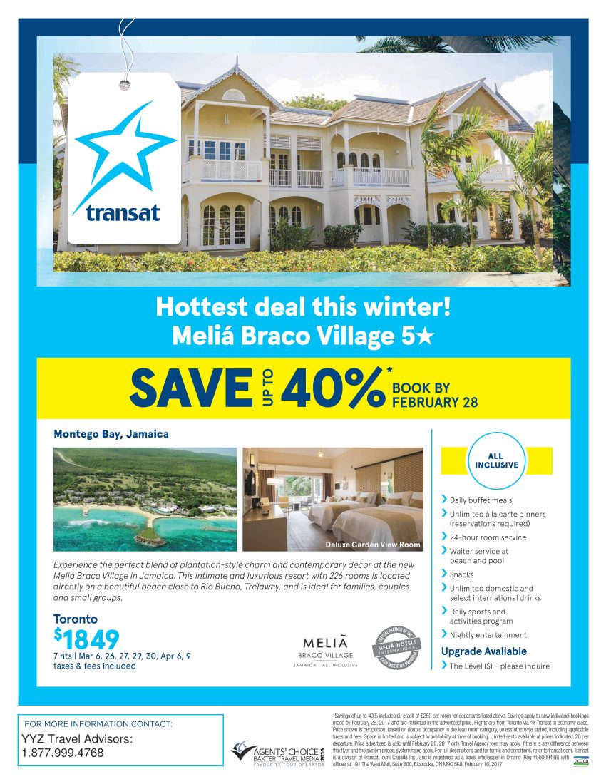 Hottest Deal This Winter! Melia Braco Village 5