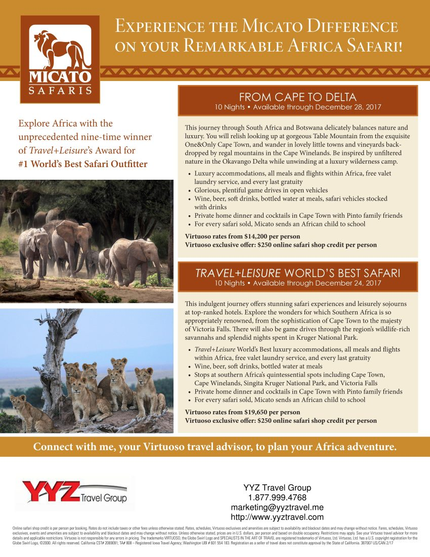 Remarkable African Safari Experience