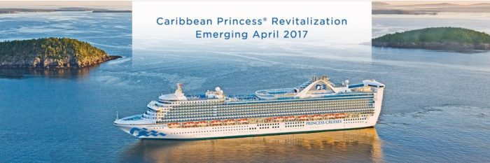 CARIBBEAN PRINCESS RENOVATIONS