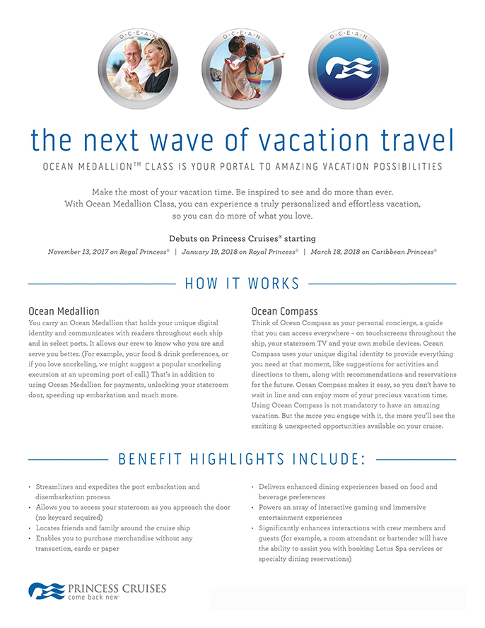 INTRODUCING THE NEXT WAVE OF VACATION TRAVEL