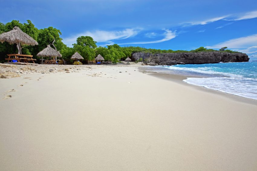 Tips for Visiting Curaçao. Beautiful landscape on the caribbean island, Curacao.