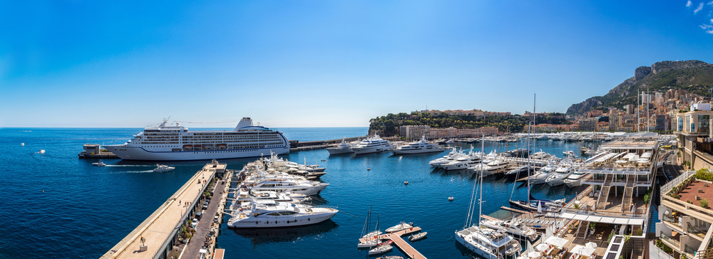 Panoramic view of Monte Carlo in a summer day, Monaco. depositphotos.com