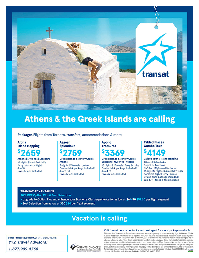 Athens & the Greek Islands are calling