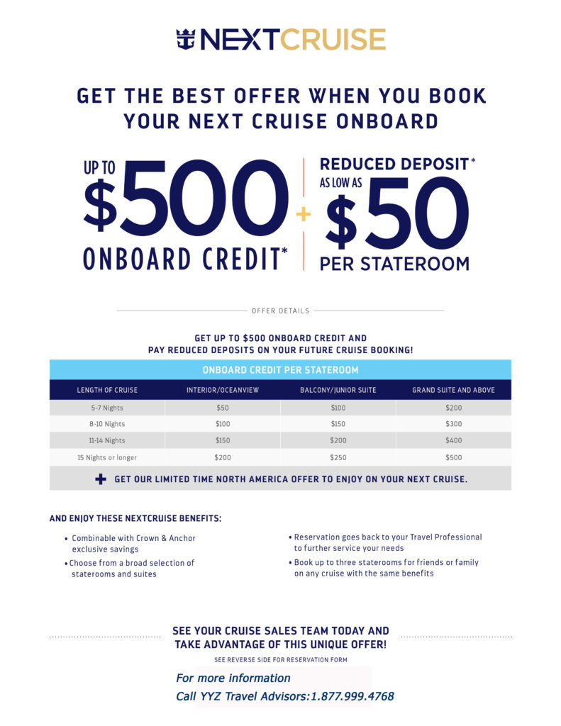 Get the Best Offer When You Book Your Next Cruise Onboard
