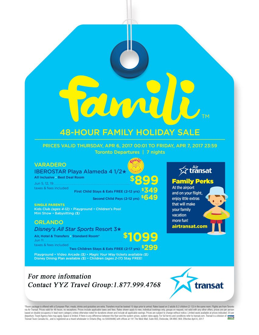 Family 48-hour Holiday Sale