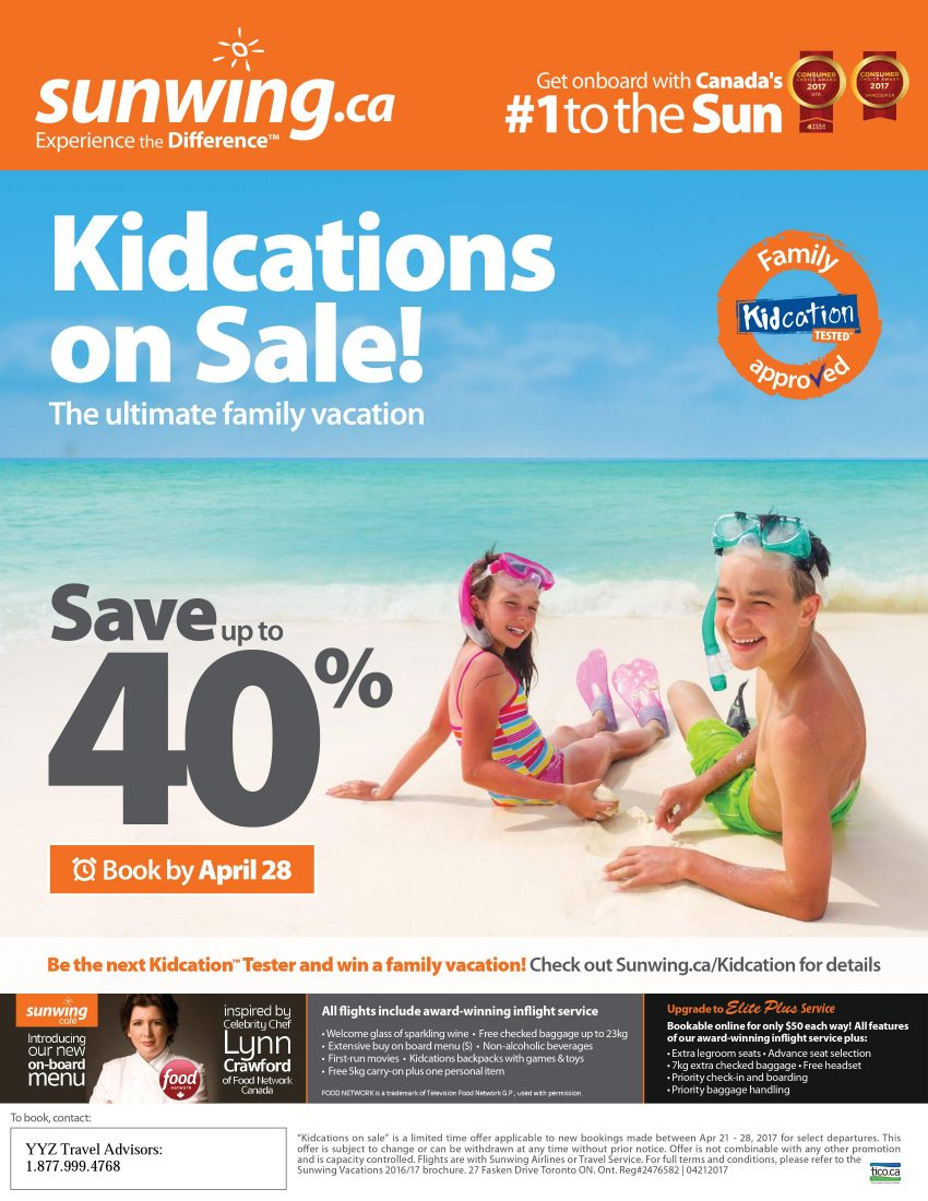Kidcations On Sale