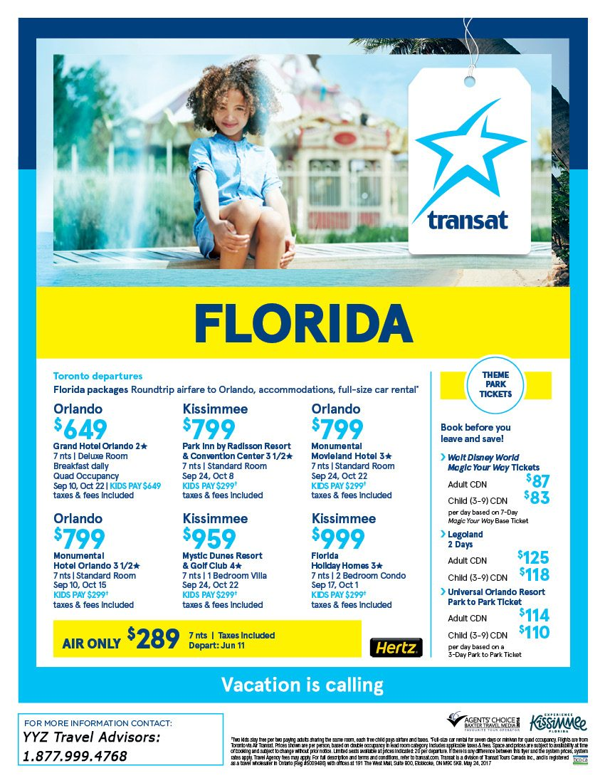 Florida Packages