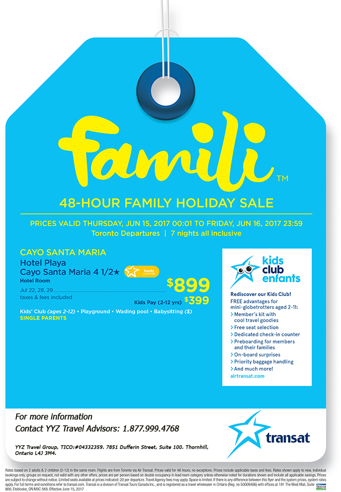 48-Hour Family Holiday Sale