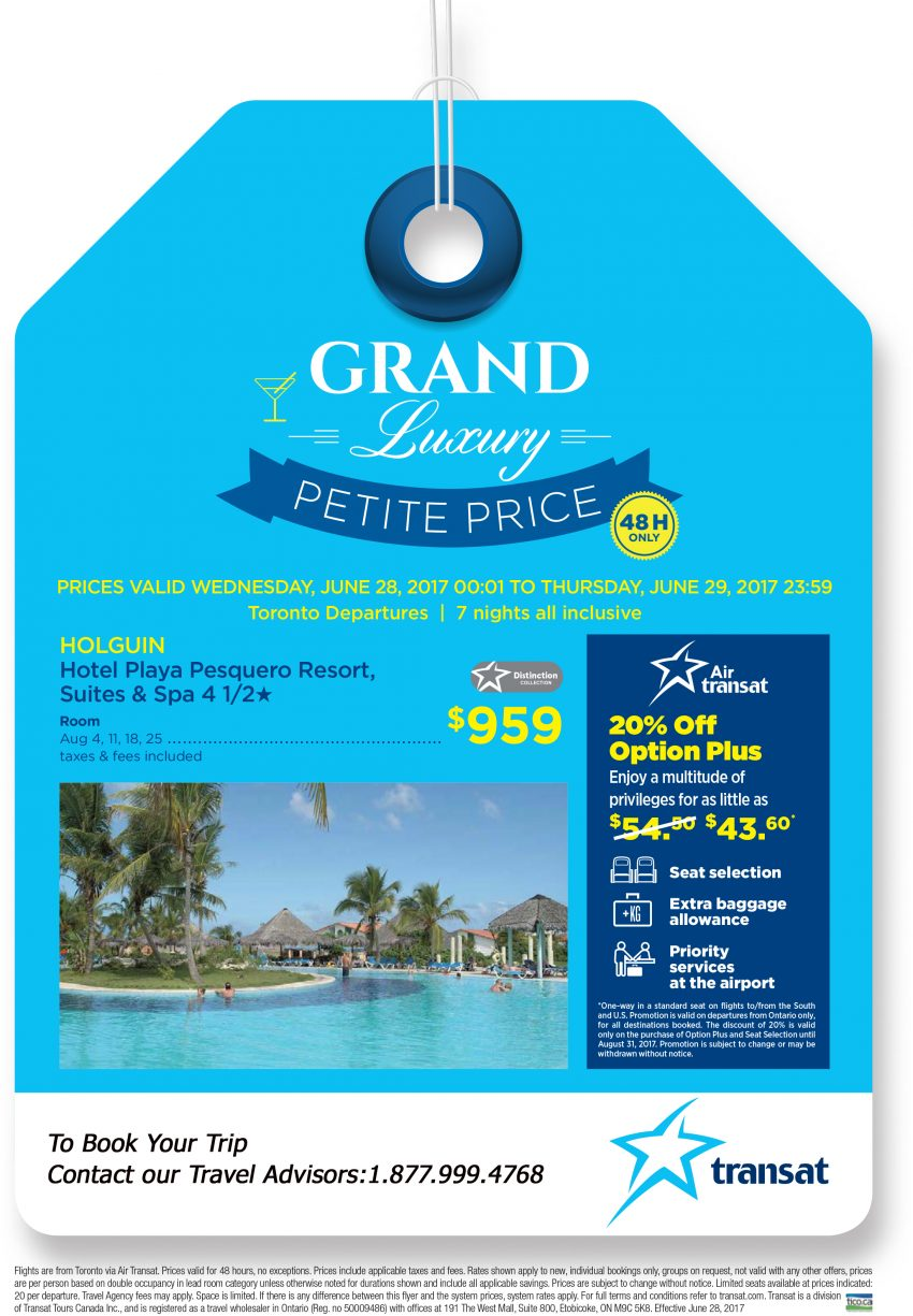 GRAND luxury: Petite Price. 48H Only