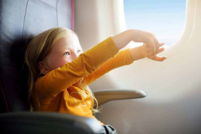 Tips on How to Deal with Children on a Plane