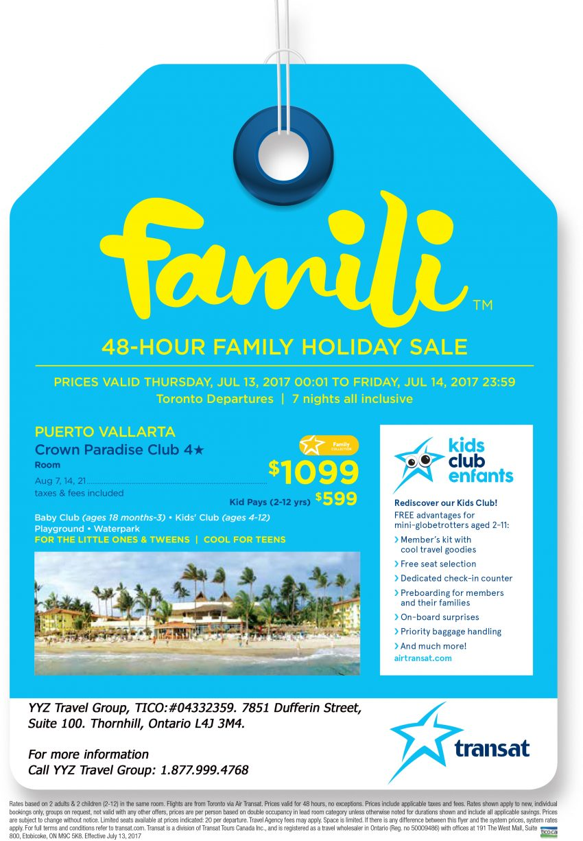 Puerto Vallarta: Family 48 -Hour Sale