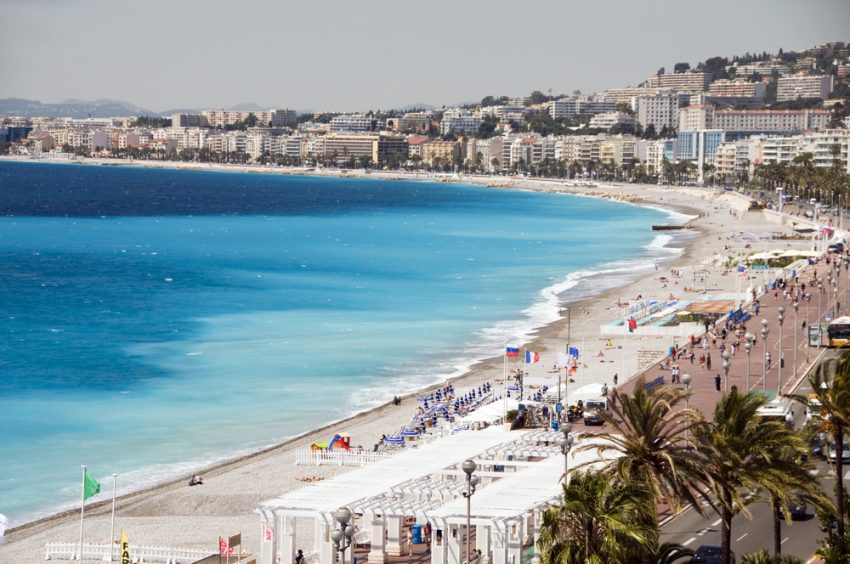 The Best Destinations for your Summer 2017 Trip to Europe. Nice, France