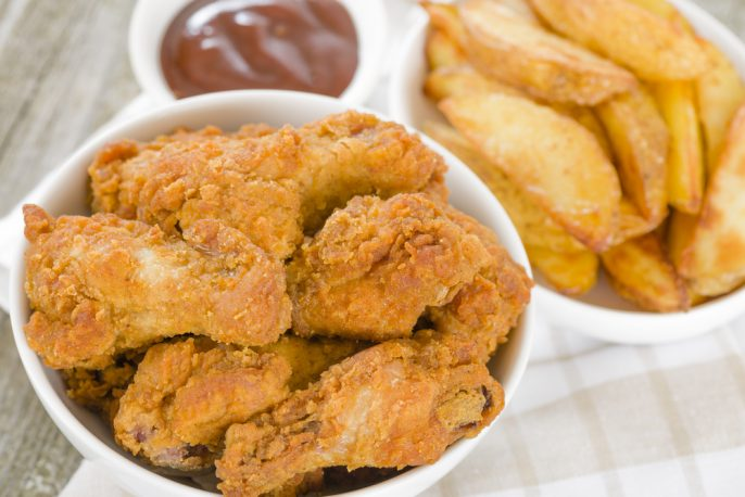 What to Eat in Seoul. Korean fried chicken