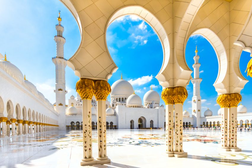 The Trendiest Autumn 2017 Destinations. Sheikh Zayed Mosque, Abu Dhabi, United Arab Emirates