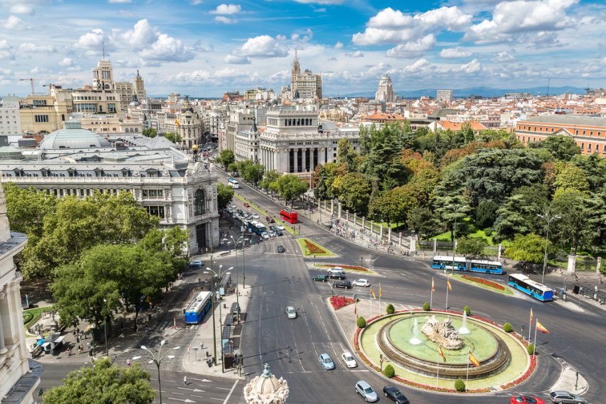 The Best Destinations for your Summer 2017 Trip to Europe. Madrid, Spain