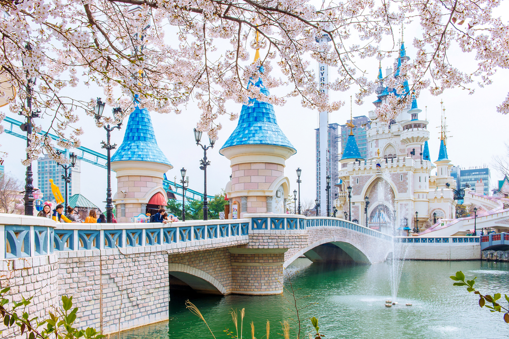 SEOUL, KOREA  -  Lotte World amusement park