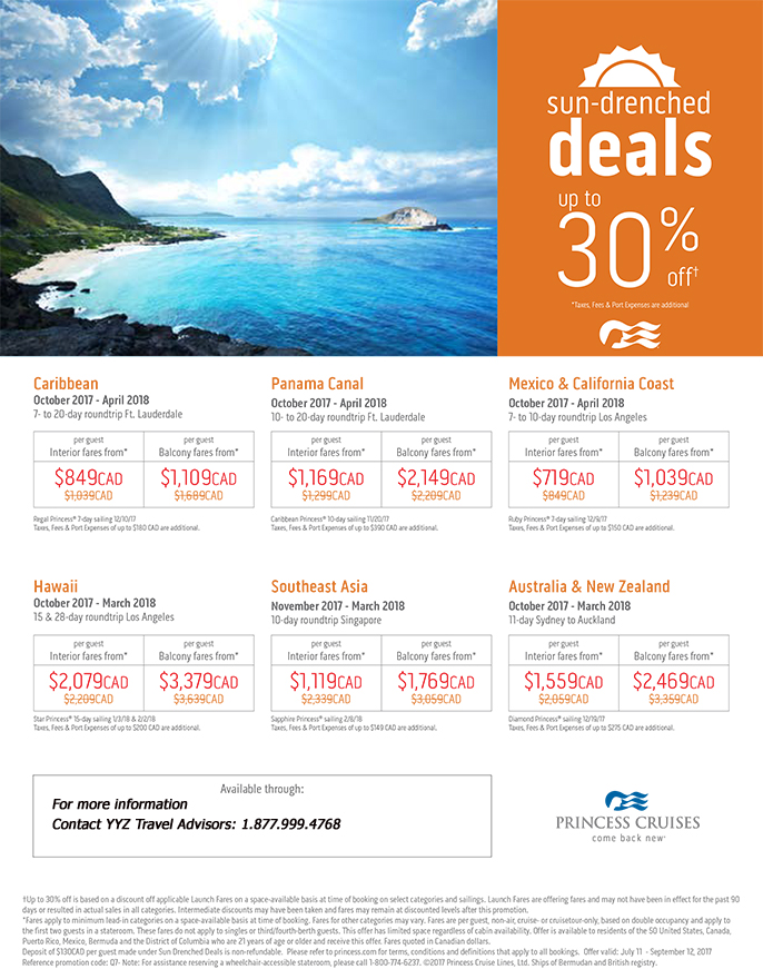 Sun-Drenched Deals: Up to 30%