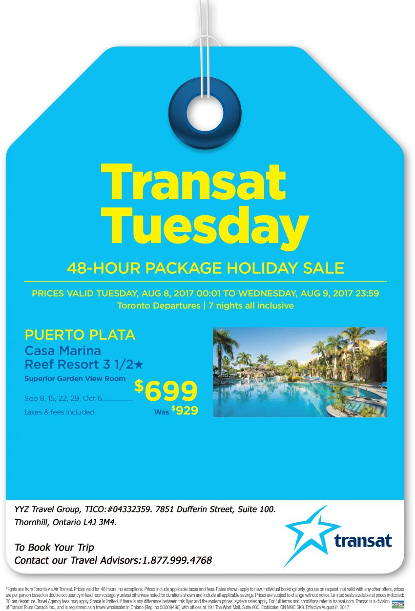 Puerto Plata - 48-Hour Package Holiday Sale