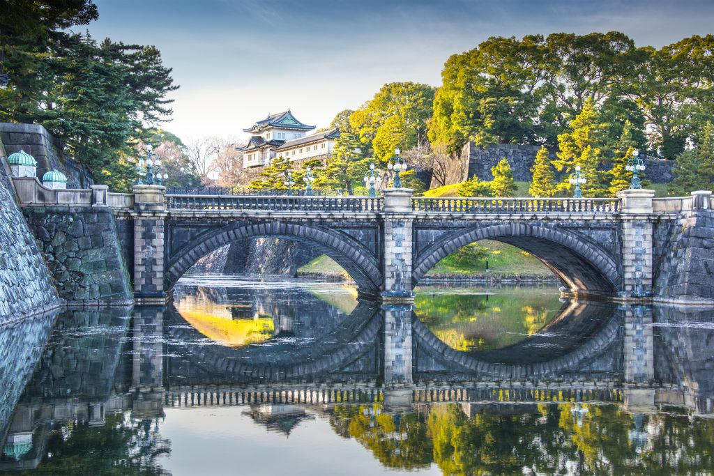 Tokyo Imperial Palace of Japan.