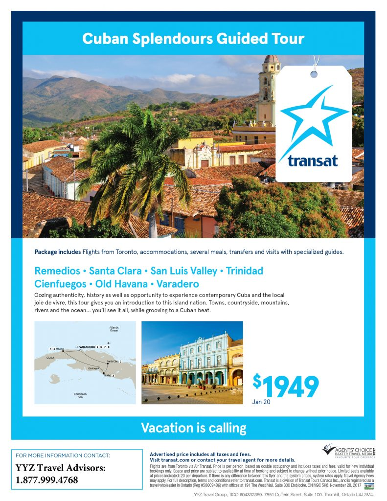 Cuban Splendours Guided Tour