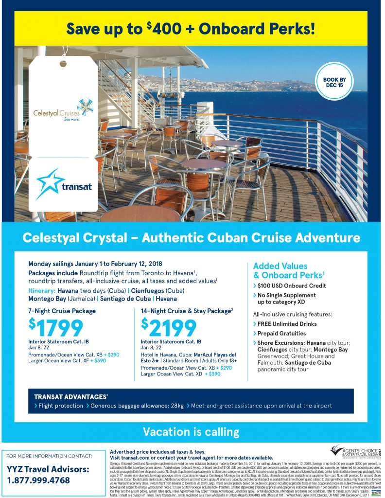 Authentic Cuban Cruise Adventure
