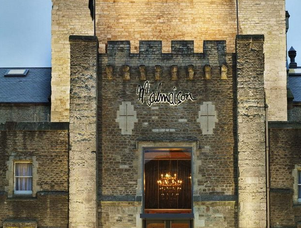 The Most Unusual World Hotels. Malmaison Oxford Castle