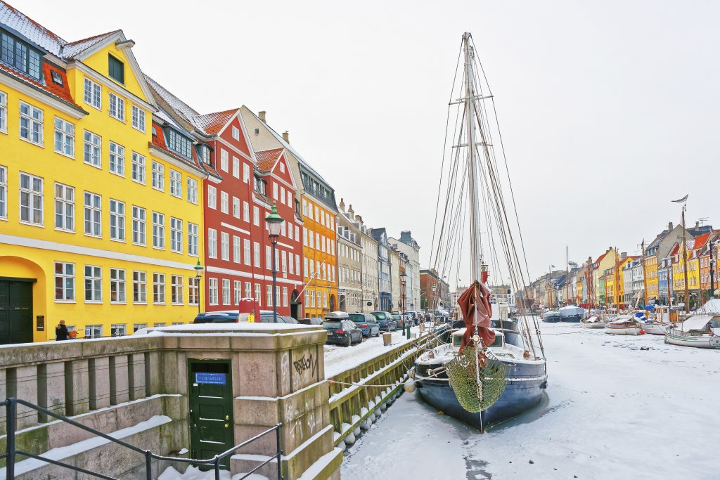 Snowy Denmark: Beautiful Winter Kingdom
