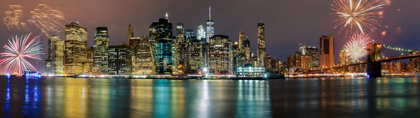 The Best US cities to Celebrate New Year. New York.