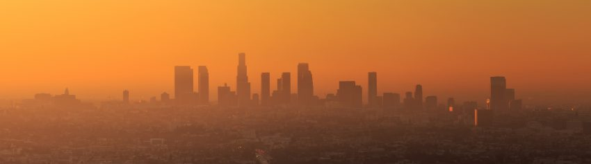 The Best US cities to Celebrate New Year. Downtown Los Angeles.