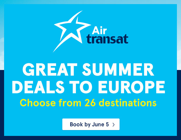 Great summer deals to europe