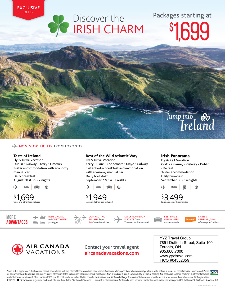 Discover the Irish Charm