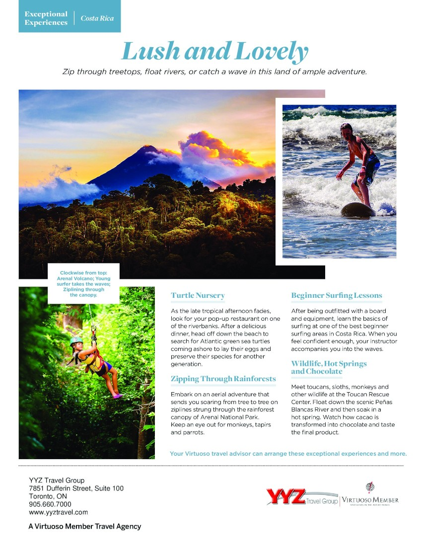 Exceptional Experiences-Costa Rica