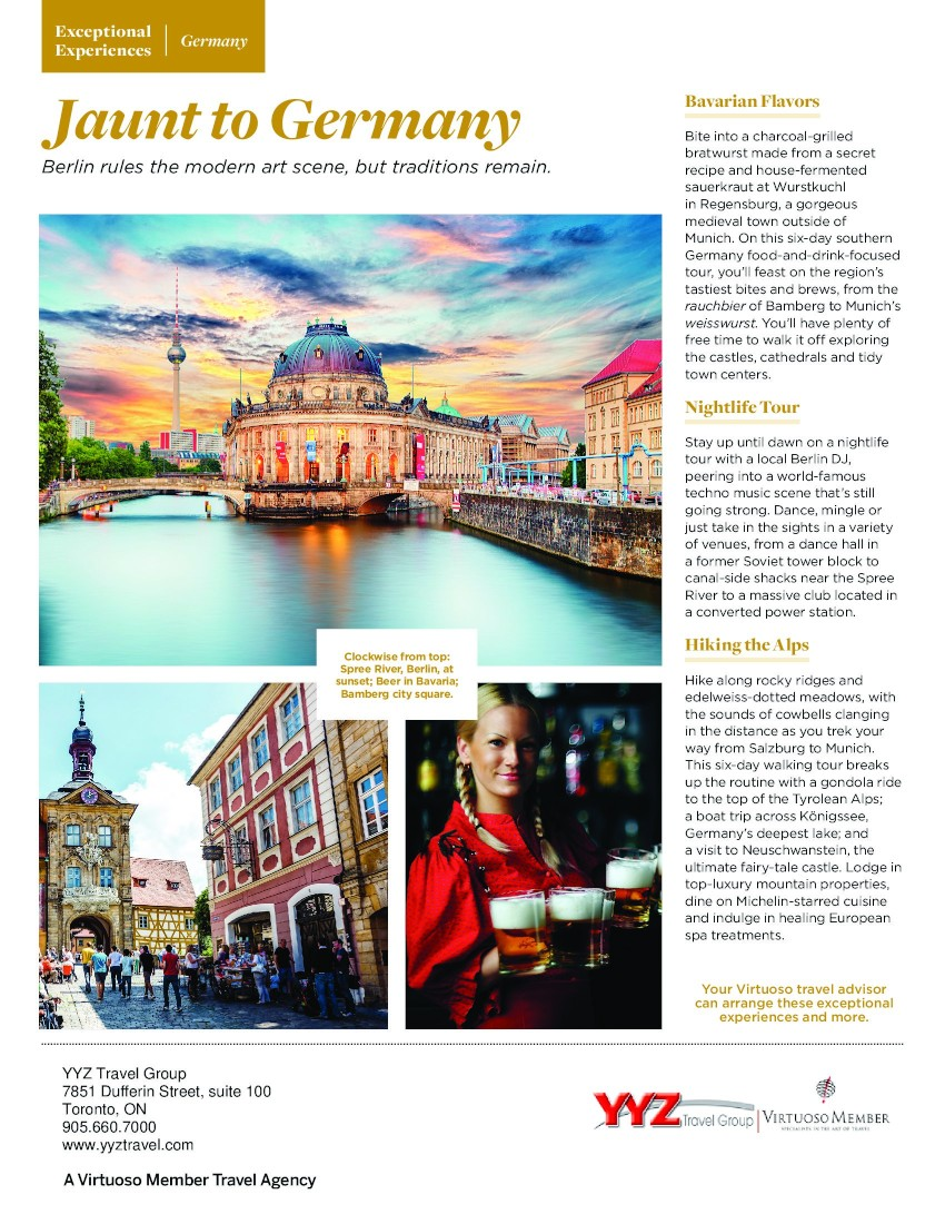 Exceptional Experiences in Germany