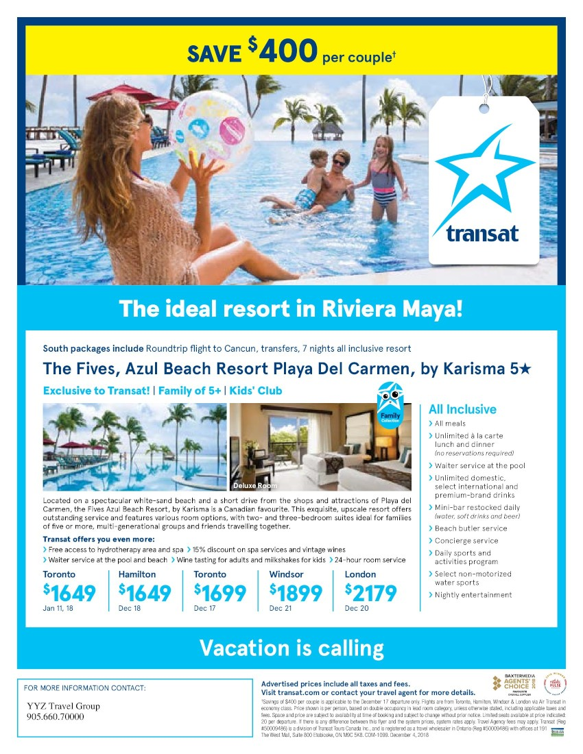 The ideal resort in Riviera Maya